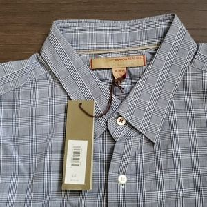 Banana republic  Heritage plaid button down